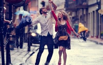 танці під дощем