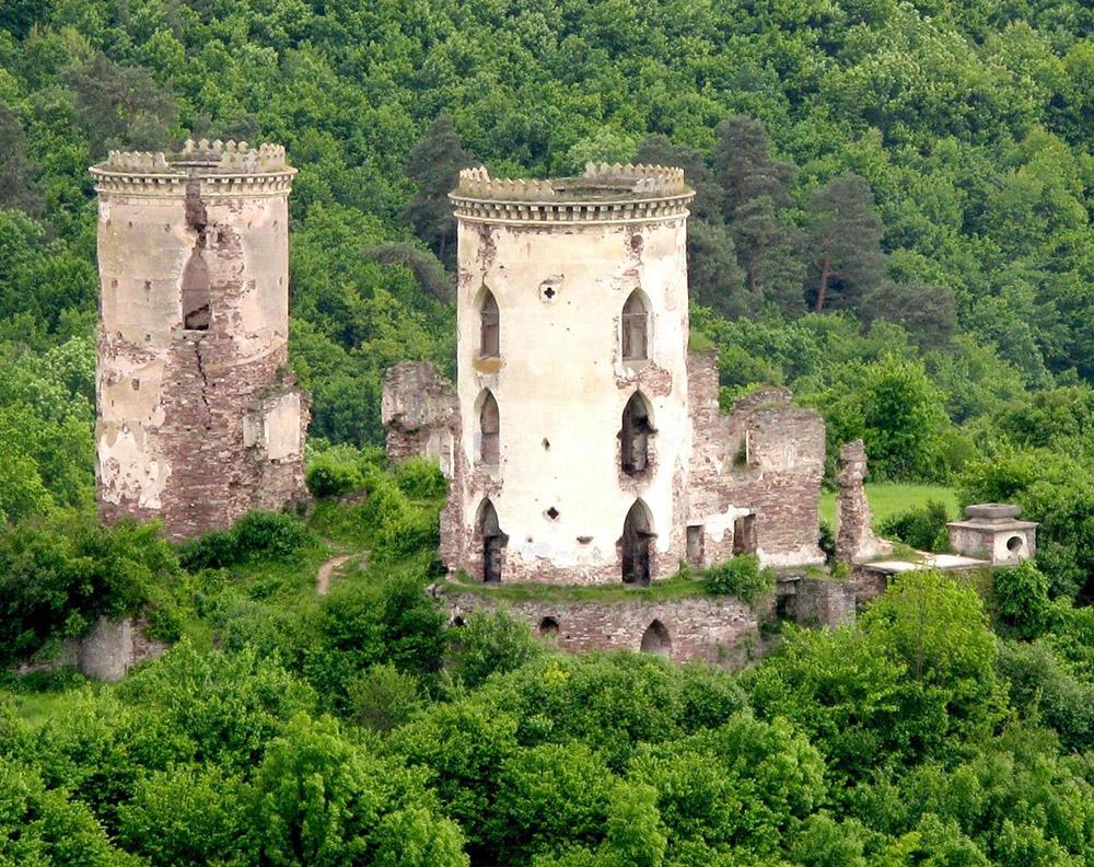 червоноград замок
