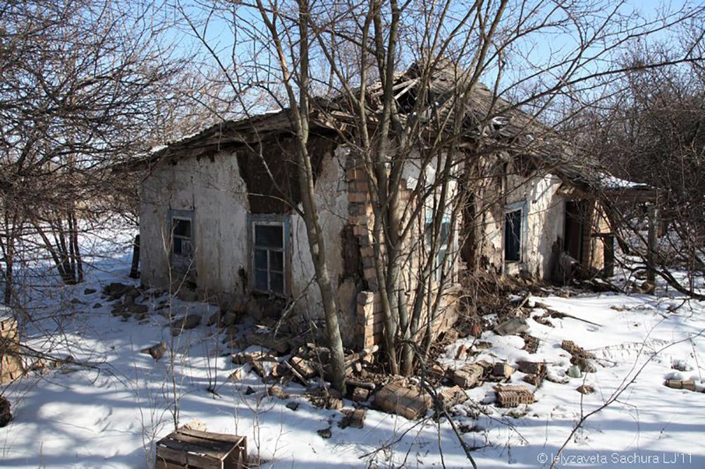 овдієвка покинуте село
