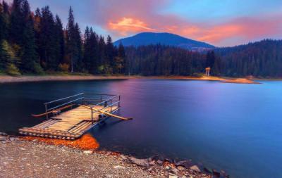 озеро синевир карпати